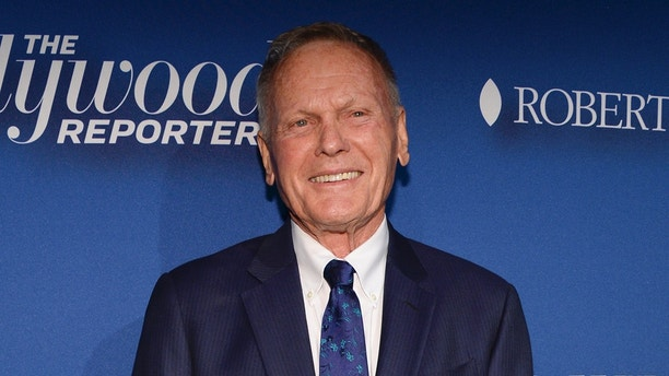 Actor Tab Hunter arrives at The Hollywood Reporter's Academy Awards Nominees Night at Spago on Monday, February 8, 2016, in Beverly Hills, Calif. (Photo by Phil McCarten/Invision/AP)