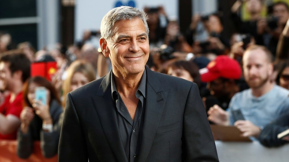 George Clooney was injured after getting into a motorbike accident in Sardinia, Italy.