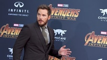 "Chris Pratt arrives at the world premiere of ""Avengers: Infinity War"" on Monday, April 23, 2018, in Los Angeles. (Photo by Jordan Strauss/Invision/AP)"