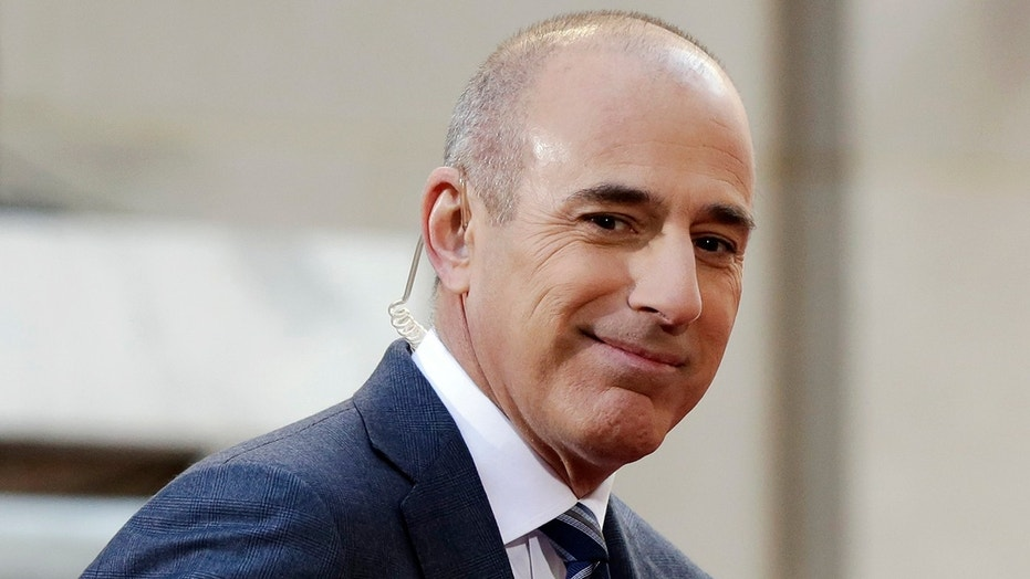 Matt Lauer is reportedly almost finished with his divorce.