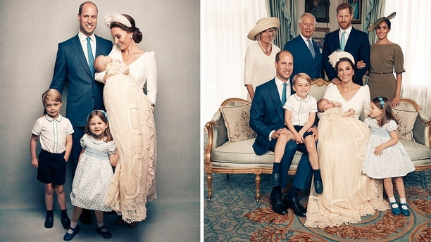 Prince Louis' official royal christening photos