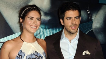 Oct. 7, 2015 - Hollywood, California, U.S. - Lorenza Izzo, Eli Roth attending the Los Angeles Premiere of ''Knock Knock'' held at the Chinese 6 Theatre in Hollywood, California on October 7, 2015. 2015 (Credit Image: © Dave Longendyke/Globe Photos via ZUMA Wire)