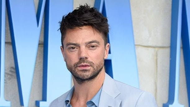 July 16, 2018 - London, England, United Kingdom - Dominic Cooper.arriving for the''Mama Mia! Here We Go Again'' World premiere at the Eventim Apollo, Hammersmith, London (Credit Image: © Ash Knotek/Snappers via ZUMA Press)