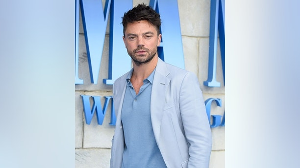 July 16, 2018 - London, England, United Kingdom - Dominic Cooper.arriving for the ''Mama Mia! Here We Go Again'' World premiere at the Eventim Apollo, Hammersmith, London  (Credit Image: © Ash Knotek/Snappers via ZUMA Press)