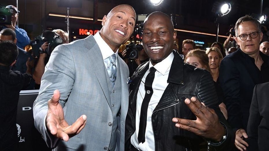 """Tyrese Gibson says it was """"not professional"""" to go public with Dwayne Johnson feud."""