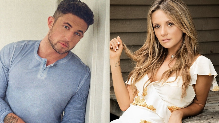 Country signers Michael Ray, left, and Carly Pearce revealed on Instagram that they are dating.