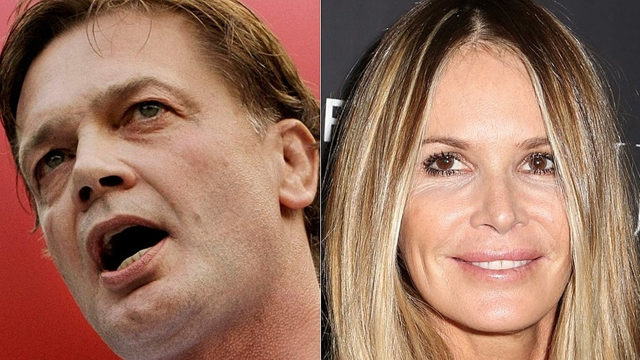 Supermodel Elle Macpherson [right] has been seen together with controversial doctor Andrew Wakefield [right].