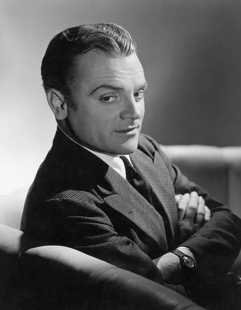 Hollywood 'gangster' James Cagney preferred life on a farm over Hollywood