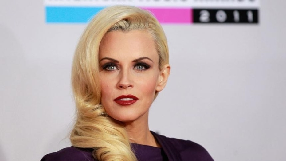Jenny McCarthy is convinced that she is living in a haunted house after her piano seems to play on its own in her home security camera.