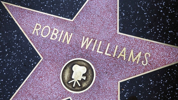 Nov. 6, 2014 - Robin Williams Star on the Walk of Fame, Hollywood Blvd., Hollywood, California, USA (Credit Image: © Ken Ross/VW Pics via ZUMA Wire)
