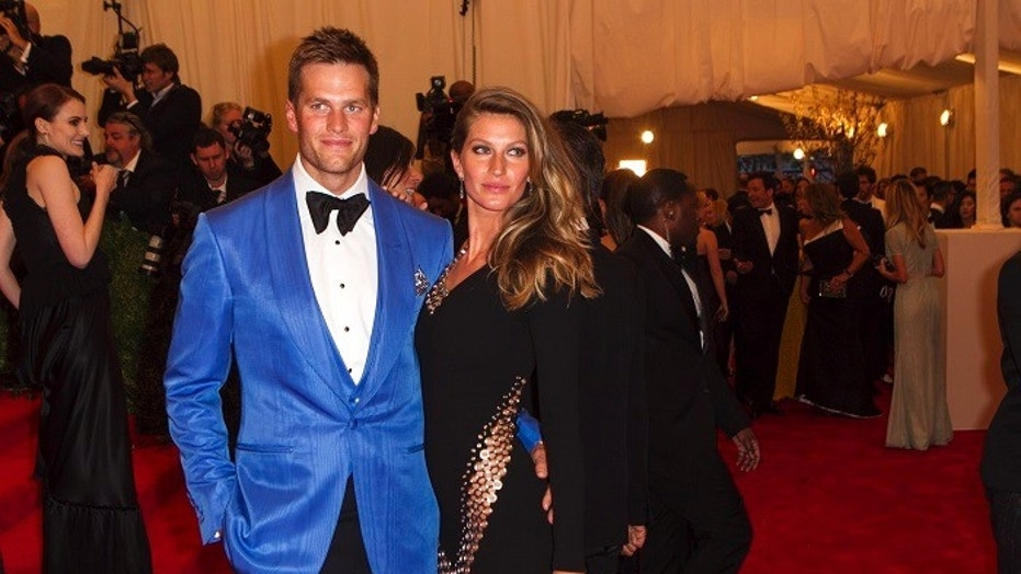 Tom Brady wishes his mode wife Gisele Bundchen happy birthday on social media with sexy beach photos.