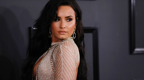 Singer Demi Lovato arrives at the 59th Annual Grammy Awards in Los Angeles, California, U.S. , February 12, 2017. REUTERS/Mario Anzuoni - HP1ED2D023EGP