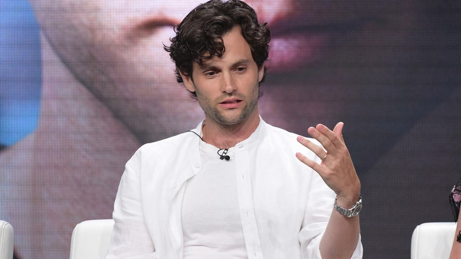 """Penn Badgley participates in Lifetime's """"YOU"""" panel during the Television Critics Association Summer Press Tour at The Beverly Hilton hotel on Thursday, July 26, 2018, in Beverly Hills, Calif."""