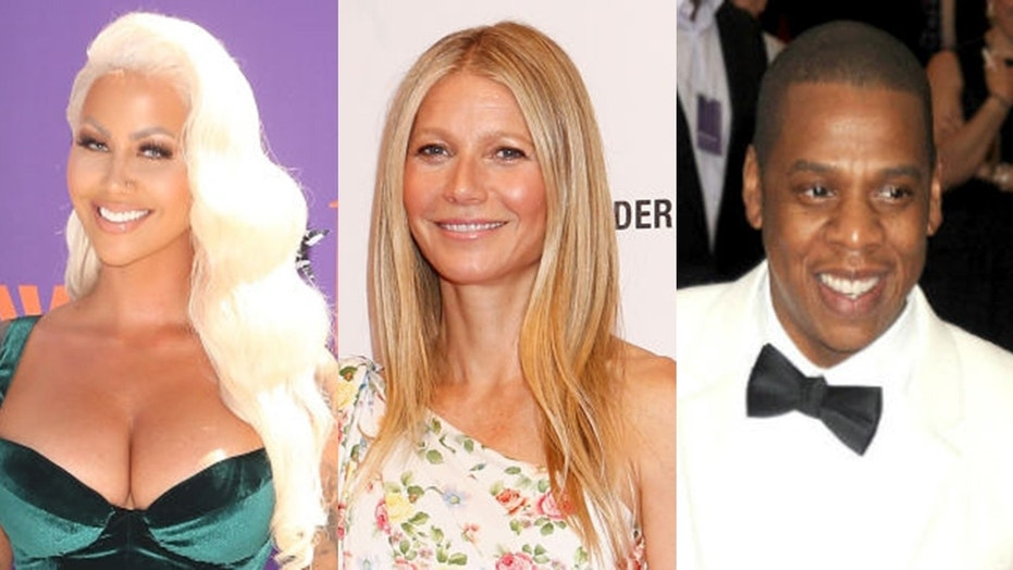 """Amber Rose claims that actress Gwyneth Paltrow is the """"Becky with the good hair"""" who briefly broke up Beyonce and Jay-Z."""