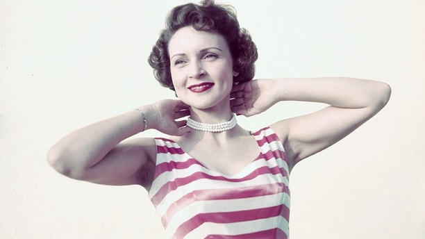 (Original Caption) Betty White, television star is shown in this photograph.