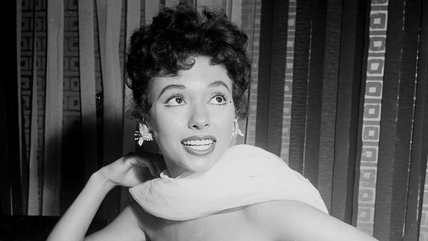 """LOS ANGELES - SEPTEMBER 1,1954: Rita Moreno attends the movie premiere party of the """"Egyptian""""  at Romanoff's in Los Angeles,CA. (Photo by Earl Leaf/Michael Ochs Archives/Getty Images)"""