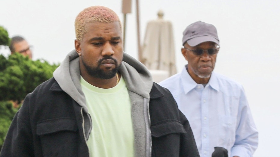 Kanye West's father, Ray (right), has reportedly been diagnosed with prostate cancer.