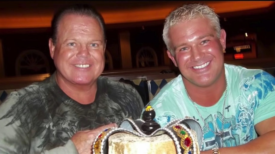 Jerry Lawler (left) and his son Brian Lawler (right).