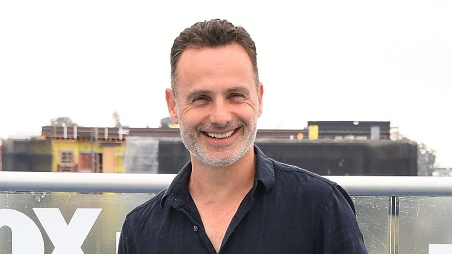 """""""The Walking Dead"""" star Andrew Lincoln."""