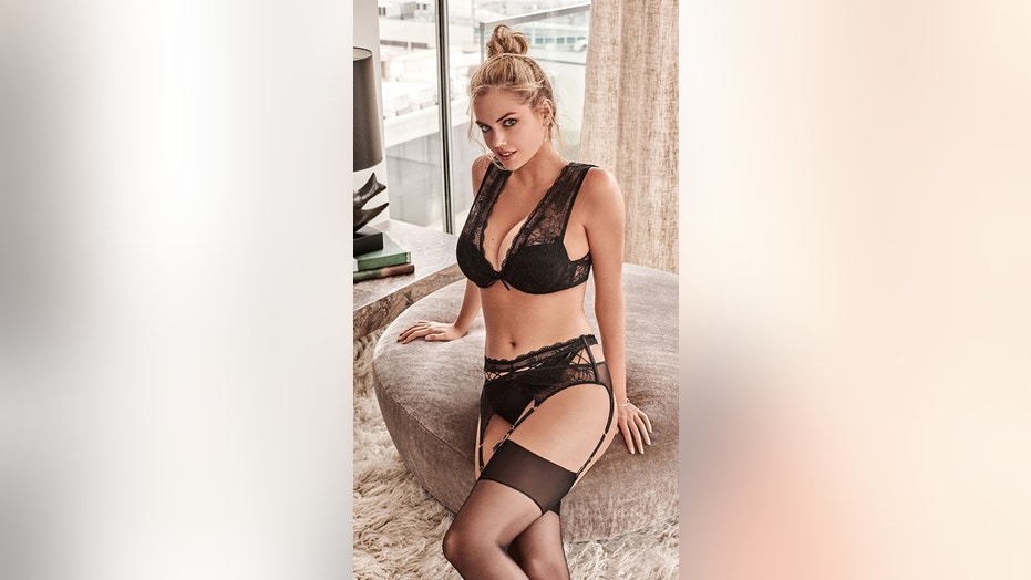 Sports Illustrated Swimsuit model Kate Upton stuns wearing the Autumn 2018 collection from Yamamay.
