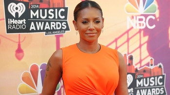 Singer Mel B arrives at the iHeartRadio Music Awards in Los Angeles, California May 1, 2014.