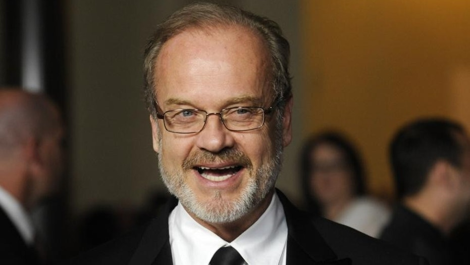 Kelsey Grammer opens up about his relationship with his fourth wife and the unique way he keeps from cheating.