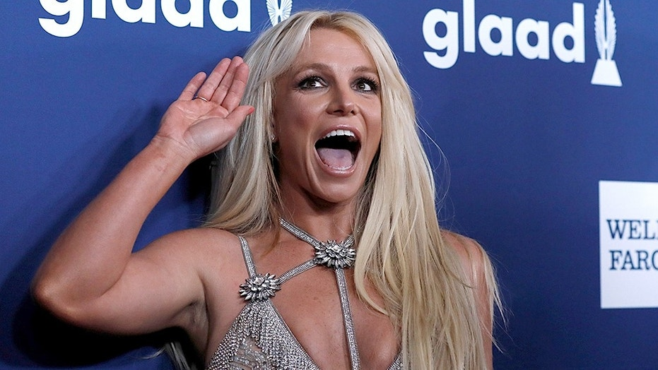 Singer Britney Spears poses at the 29th Annual GLAAD Media Awards in Beverly Hills, California, U.S., April12, 2018. REUTERS/Mario Anzuoni - RC1AEDAB9420