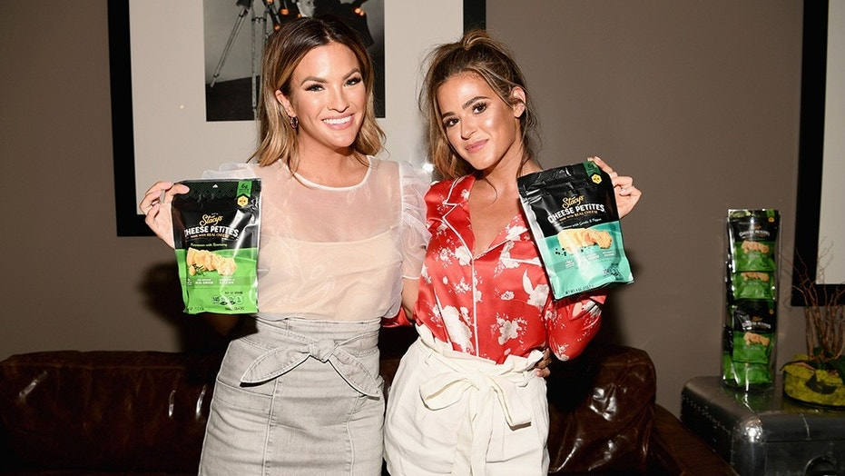 """""""Bachelor"""" alums Becca Tilley, left, and JoJo Fletcher, right, talk to Fox News about the franchise's recent sexual misconduct claims and share who they think will take home the final rose on """"The Bachelorette"""" season 14 finale."""