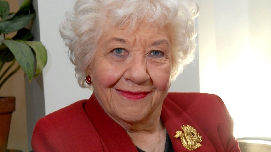 Actress Charlotte Rae poses in her New York apartment Oct. 3, 2006, in New York.