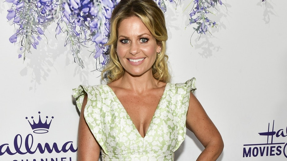 Candace Cameron Bure attends the 2018 Hallmark Channel Summer TCA at a private residence on July 26, 2018 in Beverly Hills, California.