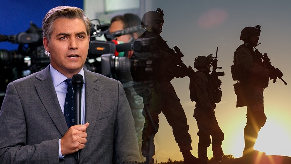 """A CNN opinion column declares that media members and soldiers are both """"protecting our freedoms"""" and should be thanked."""