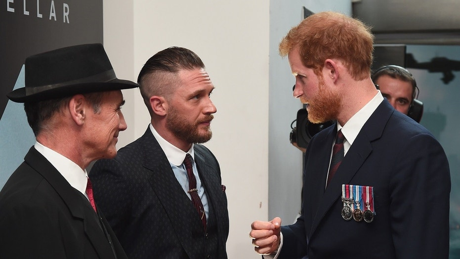 Tom Hardy and Prince Harry had one phrase to describe his friendship with Prince Harry.