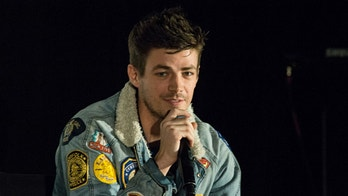"""VANCOUVER, BC - NOVEMBER 11:  Actor Grant Gustin attends 'The Flash"""" Q&A at Fan Expo Vancouver in the Vancouver Convention Centre on November 11, 2017 in Vancouver, Canada.  (Photo by Phillip Chin/WireImage)"""