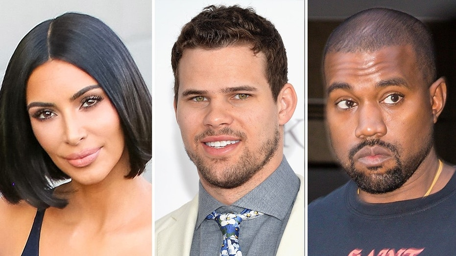 Kim Kardashian reveals she hid her Kris Humphries wedding ring from 'heartbroken' Kanye West.