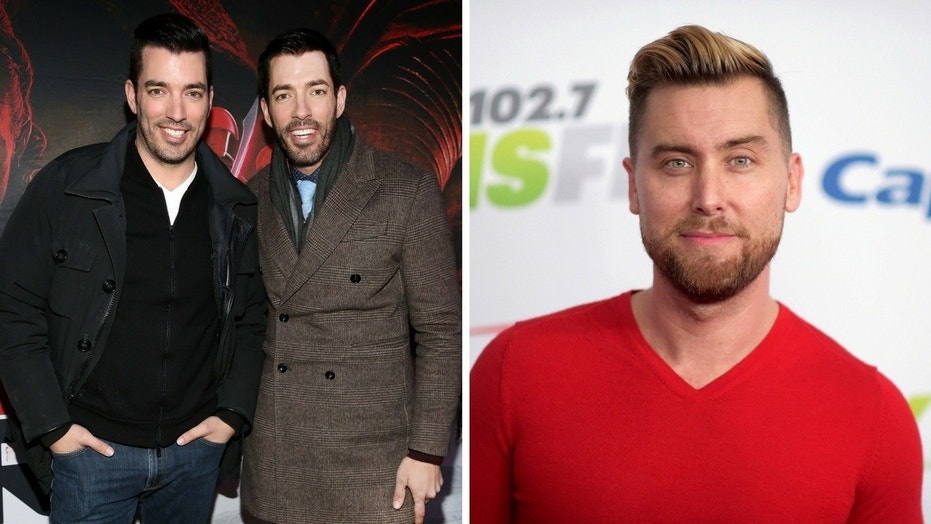 """Jonathan Silver Scott [first from left seen here with his brother Drew Scott] said he """"would love to work"""" with *NSYNC alum Lance Bass."""