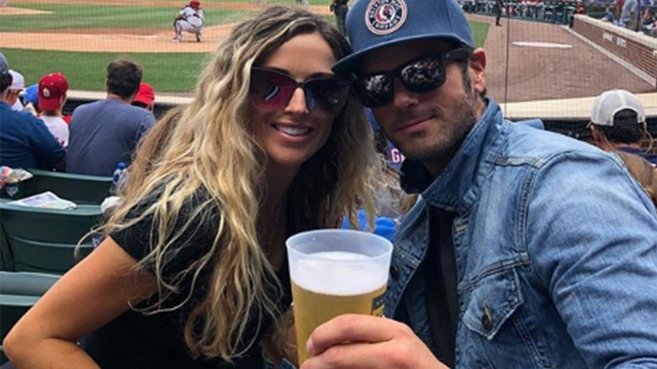 Chuck Wicks, right, is dating the sister of Jason Aldean, Kasi Williams.