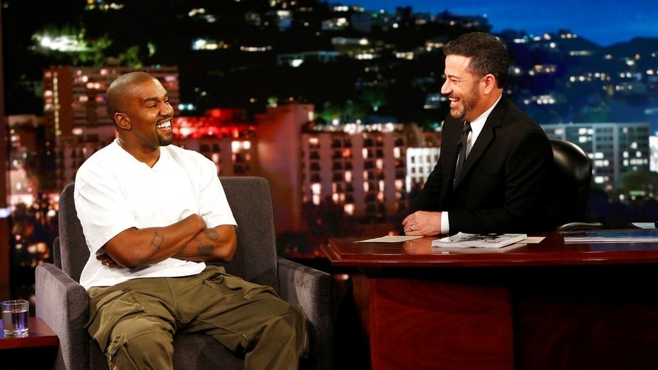 Kanye West explained the long break he took when host Jimmy Kimmel asked him why the rapper thought President Trump cared about black people.