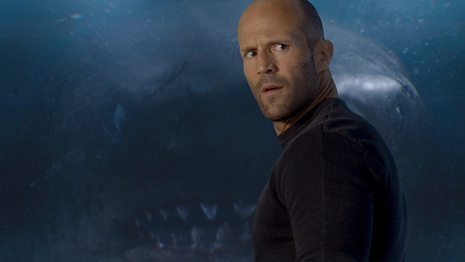 "This image released by Warner Bros. Entertainment shows Jason Statham in a scene from the film, ""The Meg."" (Warner Bros. Entertainment via AP)"