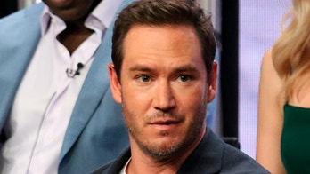 """Saniyya Sidney, left, and Mark-Paul Gosselaar participate in """"The Passage"""" panel during the Fox Television Critics Association Summer Press Tour at The Beverly Hilton hotel on Thursday, Aug. 2, 2018, in Beverly Hills, Calif. (Photo by Willy Sanjuan/Invision/AP)"""