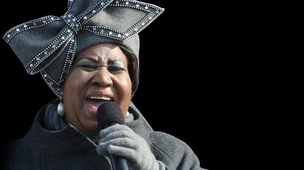 Aretha Franklin from the photo team