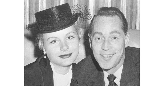 Barbara and her boyfriend (and future husband) Franchot Tone. Courtesy of the Redfield family