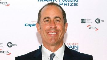 Comedian Jerry Seinfeld arrives on the red carpet for the taping of the Mark Twain Prize for Humor ceremony and performance, honoring comedian Jay Leno, at the Kennedy Center in Washington October 19, 2014.   REUTERS/Jonathan Ernst    (UNITED STATES - Tags: ENTERTAINMENT) - GM1EAAK0Q7X01