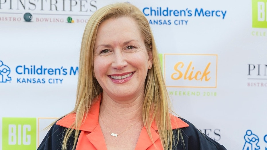 "Actress Angela Kinsey appeared on the NBC sitcom ""The Office."""