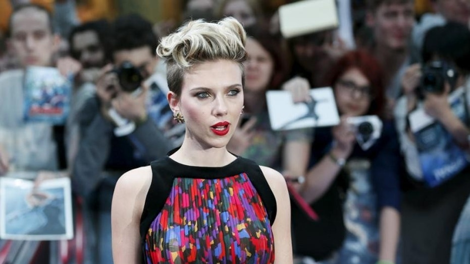 Scarlett Johansson Is The World's Highest-Paid Female Actress