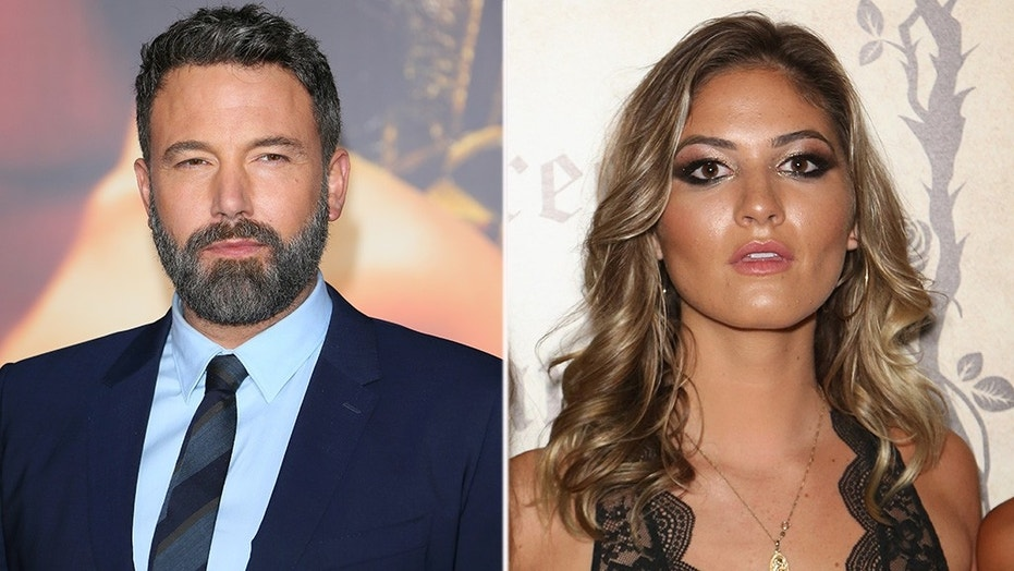 Ben Affleck was spotted out with pals including Playboy model Shauna Sexton Thursday evening at a Malibu, Calif. restaurant, according to reports.