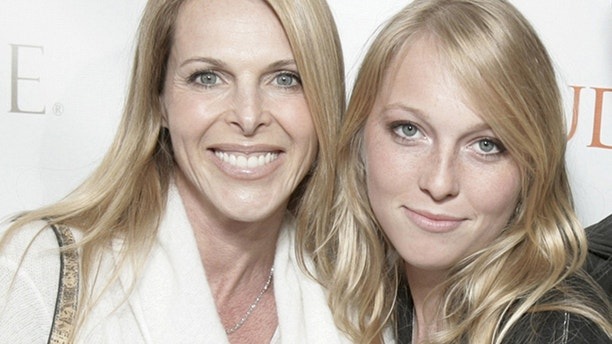 Catherine Oxenberg and India Oxenberg.