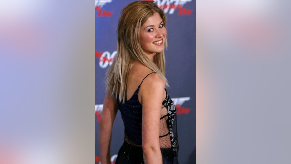 "Rosamund Pike reveals that she was asked to strip down during her audition for the 2002 James Blond flick, ""Die Another Day."""
