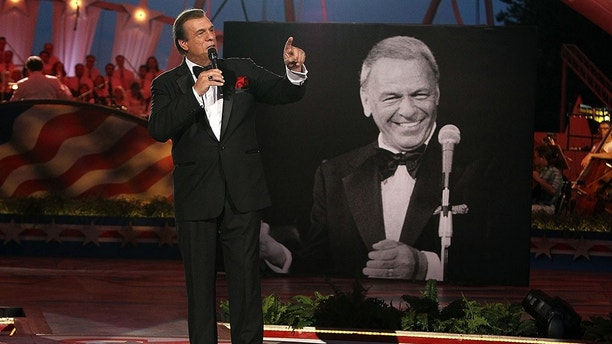 WASHINGTON, DC - JULY 03:  Award-winning actor and jazz vocalist Robert Davi performs a Sinatra tribute in honor of Frank Sinatra's 100th birthday at A Capitol Fourth 2015 Independence Day Concert dress rehearsals on July 3, 2015 in Washington, DC.  (Photo by Paul Morigi/Getty Images for Capitol Concerts)