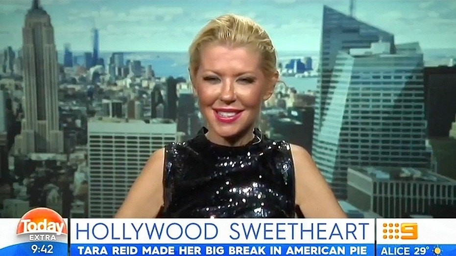 Is a bad back to blame for freaky  Tara Reid interviews?