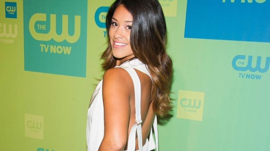 Gina Rodriguez opens about supporting #MeToo and the country's immigration policies.
